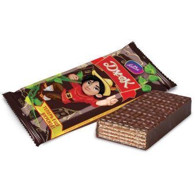 Конфеты Конти Джек шоколадные истории вафельные