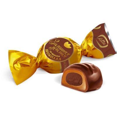 Конфеты Конти Золотая лилия со вкусом шоколада