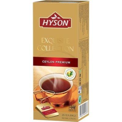 Чай черный Hyson Exguisite Collection Ceylon Premium 25 пак.