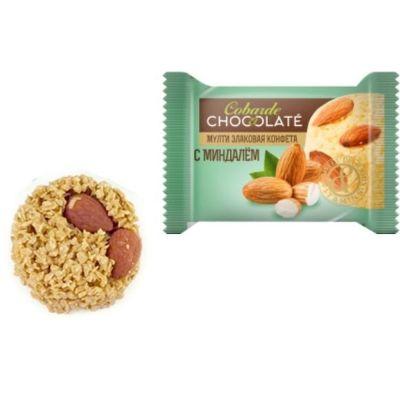 Конфеты Мультизлаковые Cobarde el Chocolate миндаль