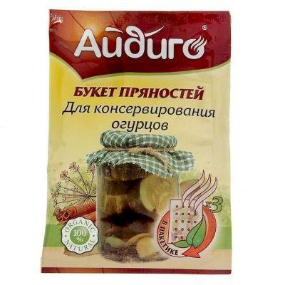 Букет пряностей Айдиго для консервирования огурцов