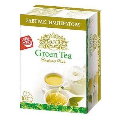 Чай Завтрак Императора Гурман зеленый 100 пак.