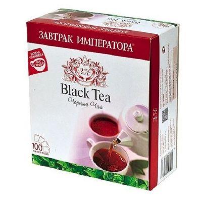 Чай Завтрак Императора Гурман черный 100 пак.