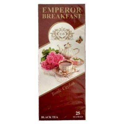 Чай Завтрак Императора черный Тонизирующий Цейлон 25 пак.