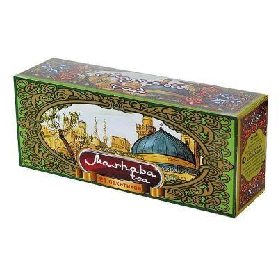 Чай Мархаба черный байховый мелкий пакетированный 25 пак.