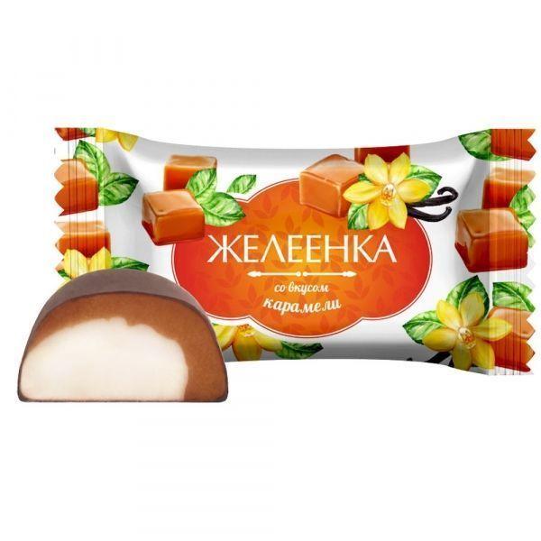 Конфеты Конфэшн Желеенка со вкусом карамели