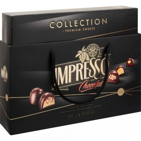 Набор конфет Импрессо черный
