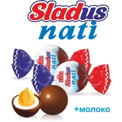 Арахис в шоколадной глазури Sladus Nati