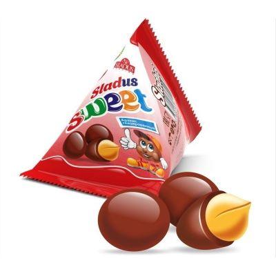 Арахис в шоколадной глазури Sladus Sweet треугольники