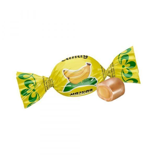 Карамель с начинкой Невский кондитер Candy со вкусом банана