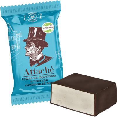 Конфеты Невский кондитер Атташе со сливочным вкусом без сахара