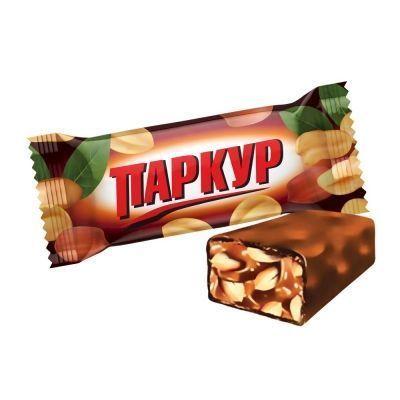 Конфеты Невский кондитер Паркур (карамель, арахис)