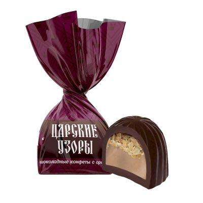 Конфеты Невский кондитер Царские узоры III с орехом