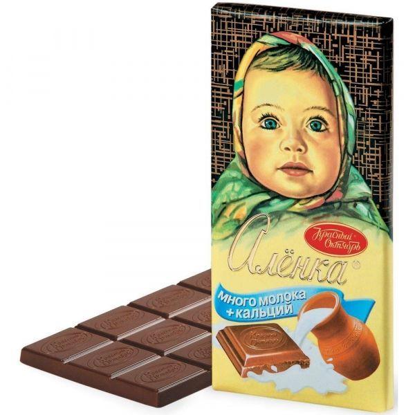 шоколад аленка оригинал фото горлица вот