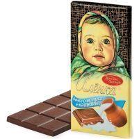 Шоколад Аленка много молока