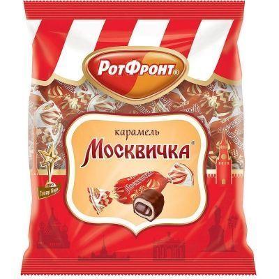 Карамель РотФронт Москвичка шоколадная глазурь
