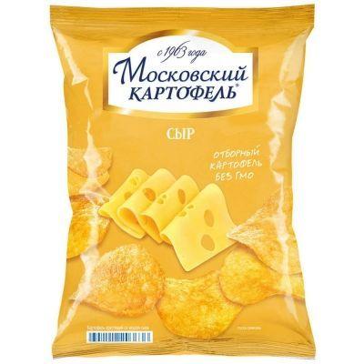 Чипсы Московский Картофель со вкусом сыра
