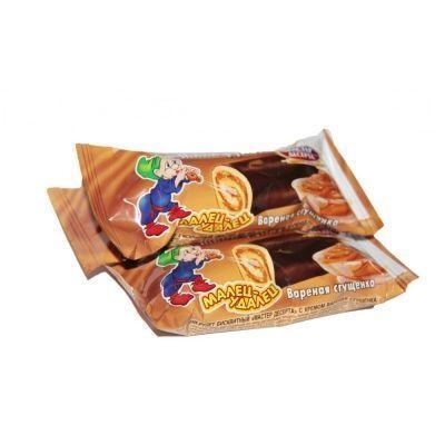 Мини-Рулет Мастер Десерта с кремом вареная сгущенка