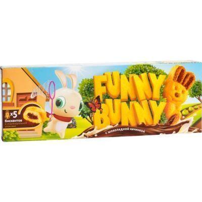 Пирожные бисквитные Funny Bunny с шоколадной начинкой
