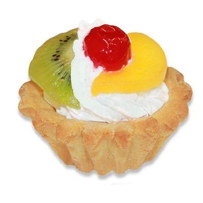 Корзиночка Чистопрудненская КФ со сливками с фруктами
