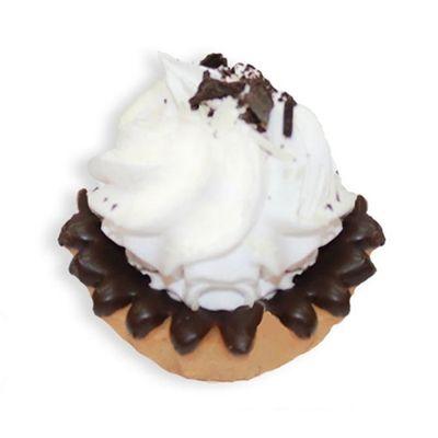 Корзиночка Чистопрудненская КФ со сливками с шоколадом