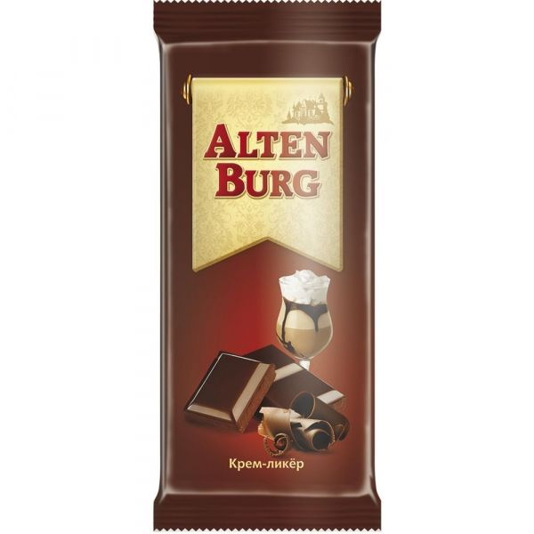 Шоколад АльтенБург крем-ликер