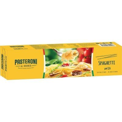 Макароны Pasteroni Спагетти №114 грА в/с