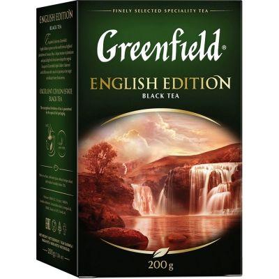 Чай Greenfield English Edition черный листовой