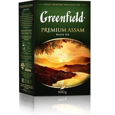 Чай Greenfield  Premium Assam черный листовой