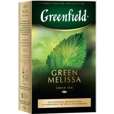 Чай Greenfield Green Melissa зеленый с добавками листовой