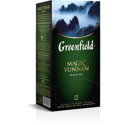 Чай Greenfield Magic Yunnan черный 25 пак.