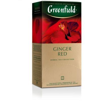 Чай Greenfield Ginger Red фруктовый с добавками 25 пак.