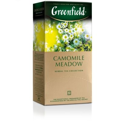 Чай Greenfield Camomile Meadow травяной с добавками 25 пак.