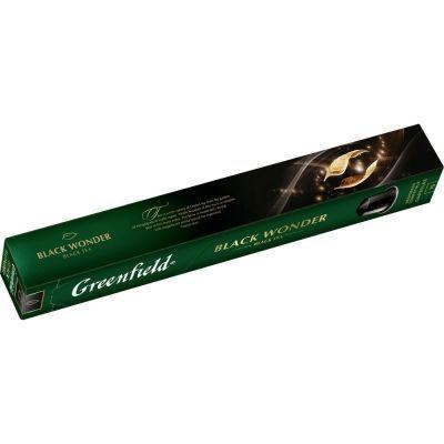 Чай в капсулах Greenfield Black Wonder черный 10 капсул