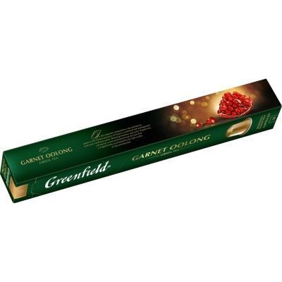Чай в капсулах Greenfield Garnet Oolong зеленый с добавками 10 капсул