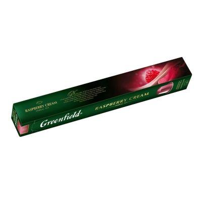 Чай  Greenfield Raspberry Cream, фруктовый с добавками 10 капсул