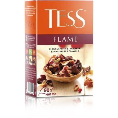 Чай Tess Flame фруктовый листовой ароматизированный