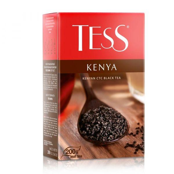 Чай Tess Kenya черный листовой гранулированный