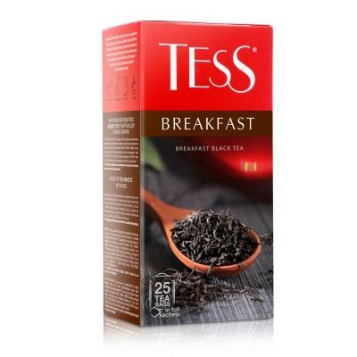 Чай Tess Breakfast черный 25 пак.