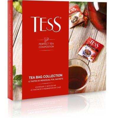 Набор чая Tess 12 видов 60 пак.