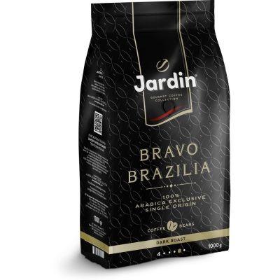Кофе в зернах Jardin Bravo Brazilia м/у