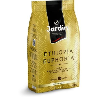 Кофе в зернах Jardin Ethiopia Euphoria м/у