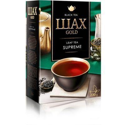 Чай Шах Голд Суприм листовой черный ароматизированный