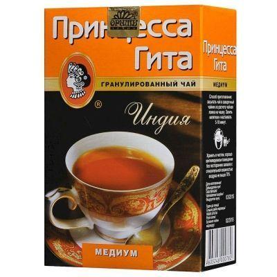 Чай Принцесса Гита Медиум черный гранулированный