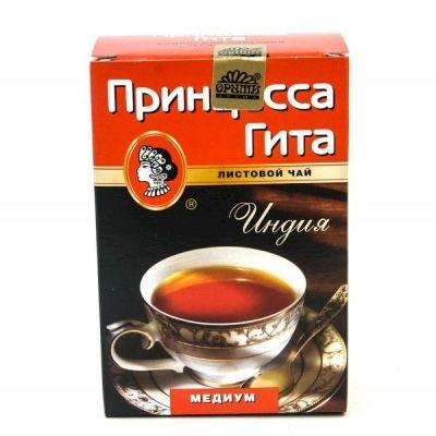 Чай Принцесса Гита Медиум черный листовой