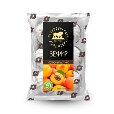 Зефир Петербургский Кондитеръ Солнечный абрикос с кусочками абрикоса