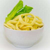 Луковые кольца Король Вкуса со вкусом зелени в сметане