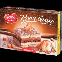 Торт Русская нива Крем-брюле