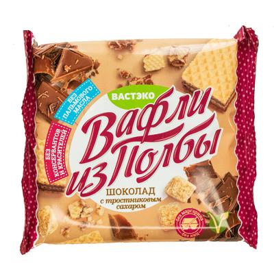 Вафли из побы Вастэко Шоколадные с тростник сахаром