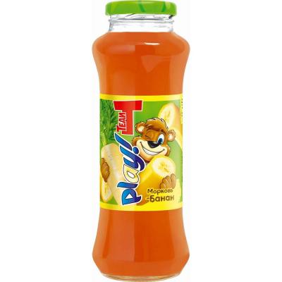 Напиток Теди Плей Морковь-Банан с/б